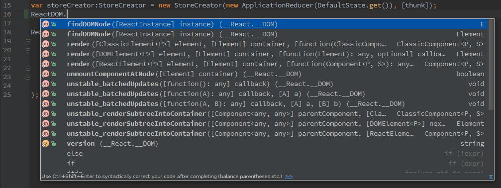 code-hinting